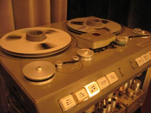 Beautiful Studer C37 tube mix deck at Prosdocimi Recording Studio in North Italy